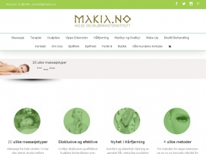 Makia - one of the best beuaty clinics in Oslo